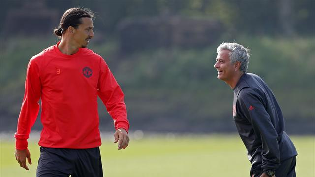 "Zlatan en ""discussions"" avec Man U"