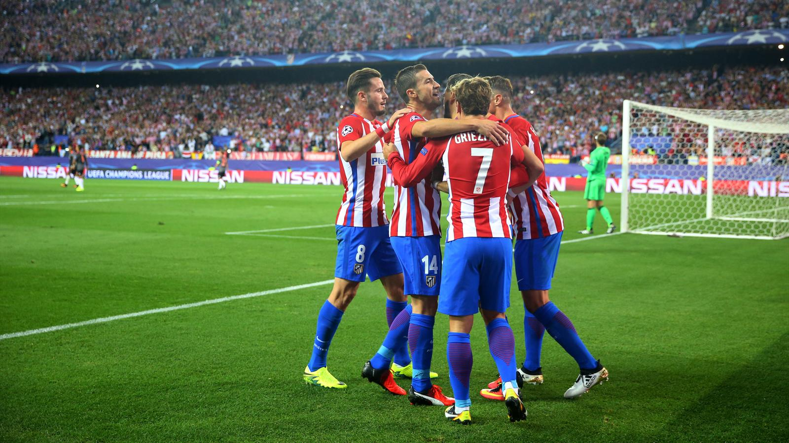 Yannick Carrasco strike sees Atletico Madrid beat Bayern Munich in Madrid - Champions League ...