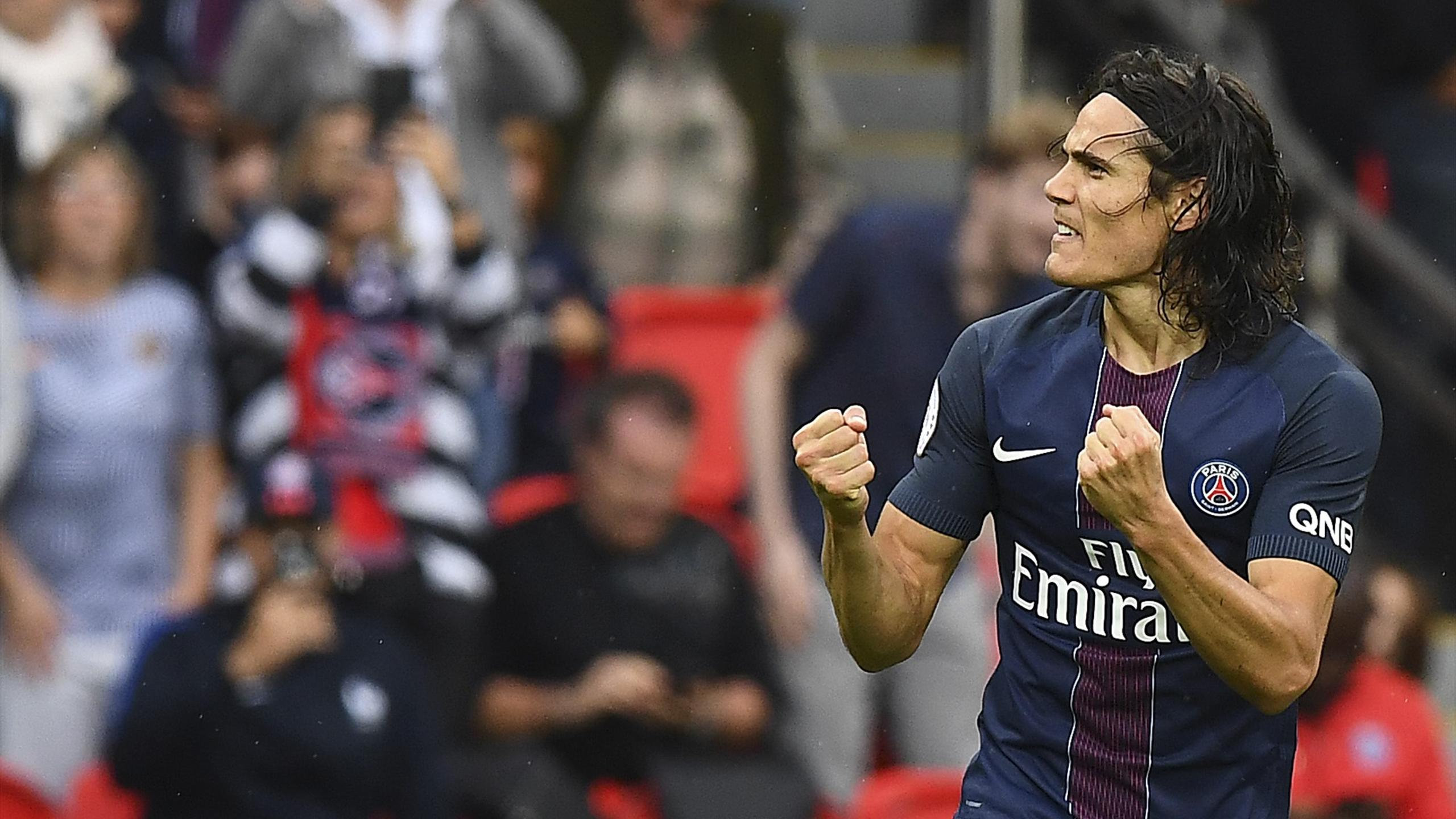 Edinson Cavani face à Bordeaux