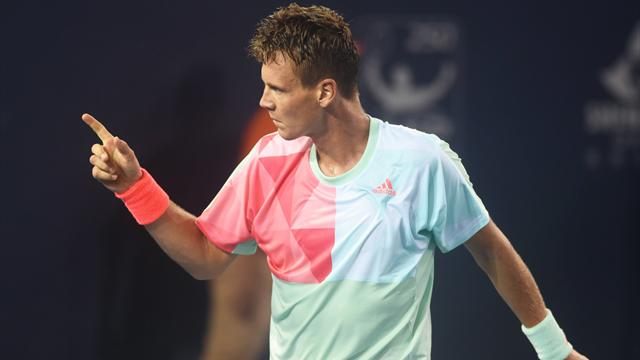 Berdych sees off qualifier Marius Copil in Rotterdam opener