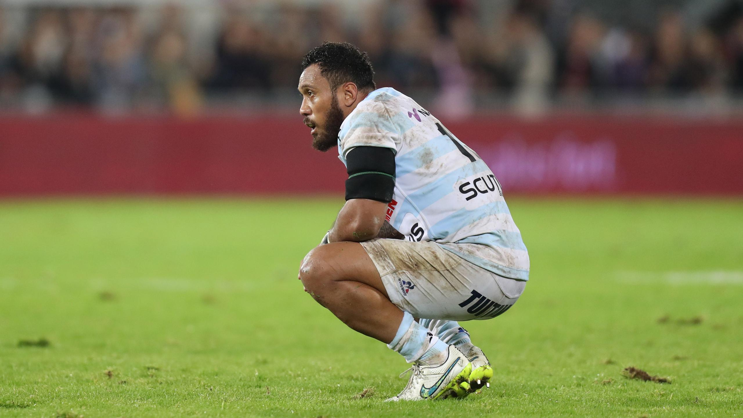 Anthony Tuitavake (Racing 92) - octobre 2016