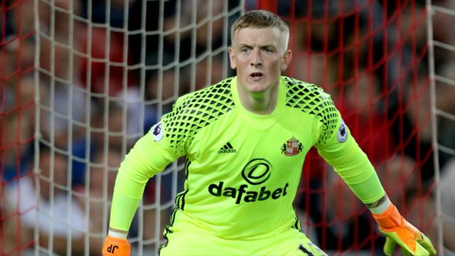 England call up Sunderland goalkeeper Jordan Pickford