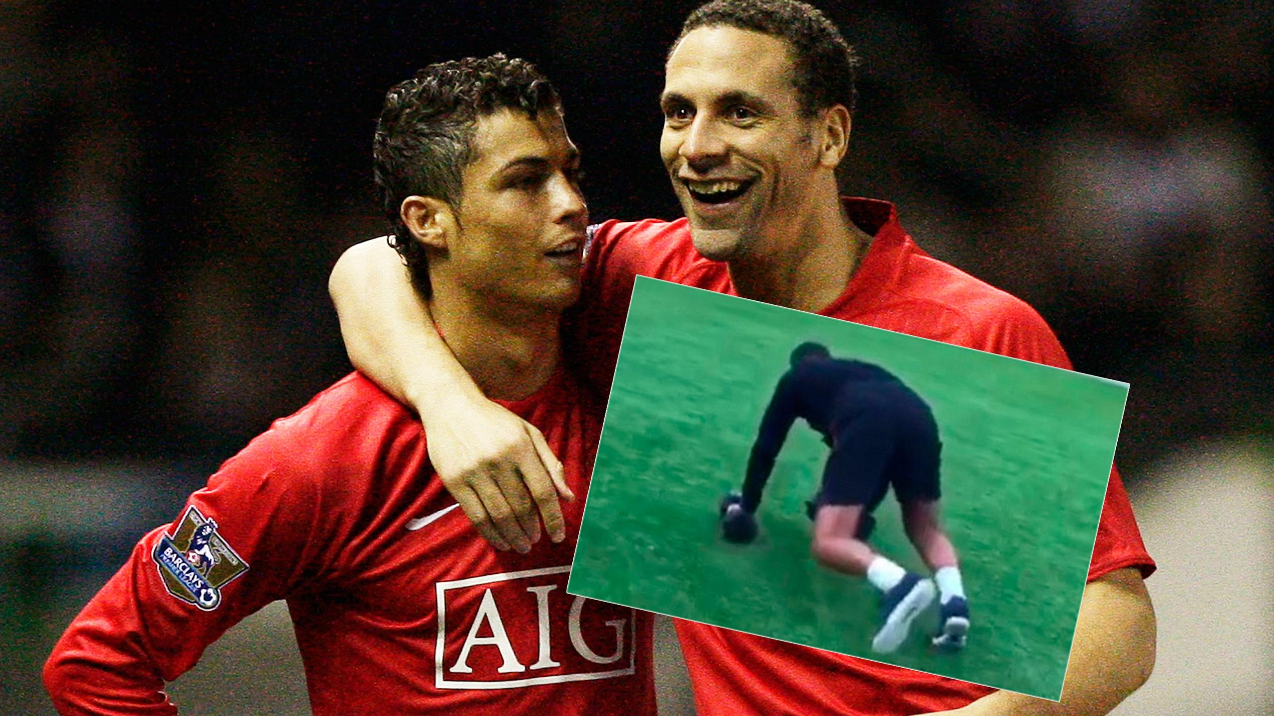 Cristiano Ronaldo and Rio Ferdinand have some wonderful banter on Instagram