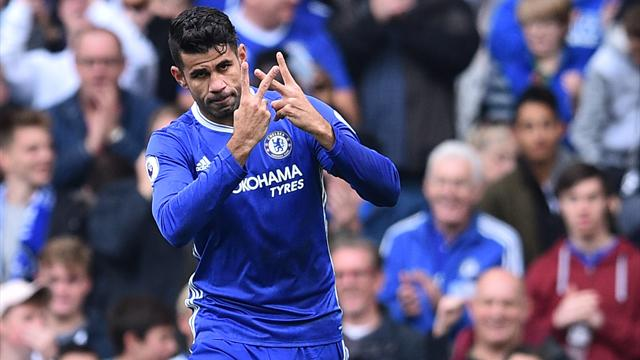 Diego Costa reportedly asked to be taken off as he was frustrated with manager Antonio Conte