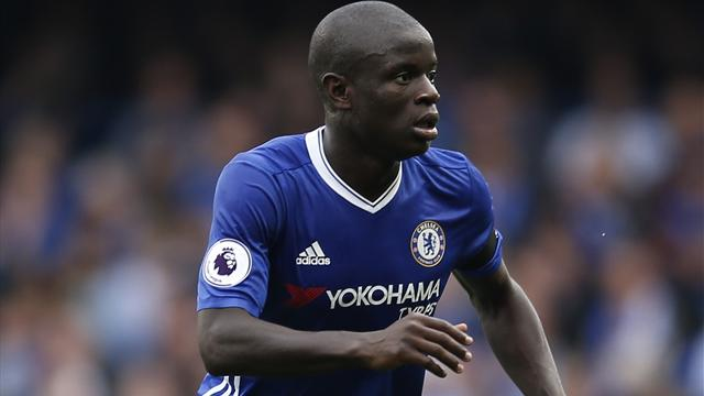 Conte's wing-back system working well for Chelsea, says Kante
