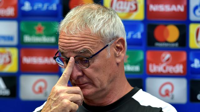Claudio Ranieri angry with Leicester side despite them nearing knockout stages