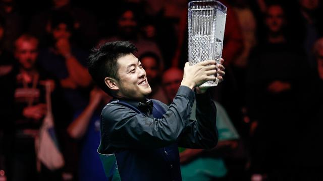 English Open champion Liang Wenbo rises to 12th in rankings