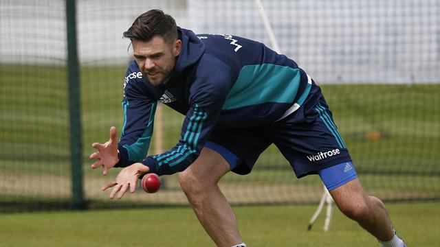 Anderson to miss first India test but England captain Cook hopeful bowler will play a role in tour