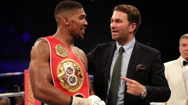Eddie Hearn: Anthony Joshua will fight in Manchester in December come what may