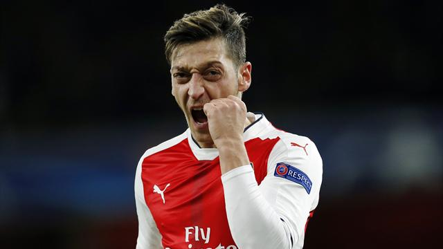 Ozil grabs hat-trick as Arsenal destroy Ludogorets
