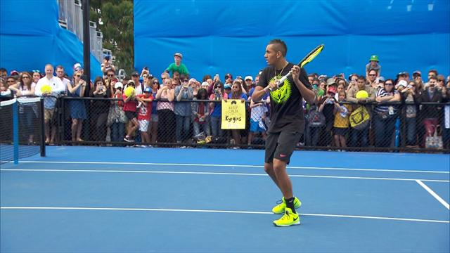 Kyrgios may not see psychologist in bid to reduce 'tanking' ban