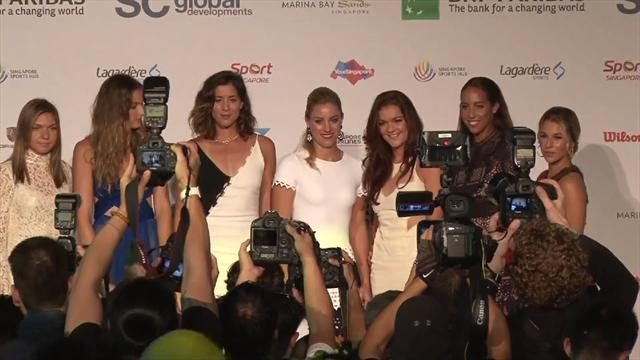 Draw made for 2016 WTA Finals in Singapore
