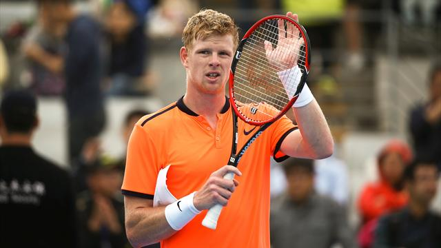 Kyle Edmund defeats Andreas Seppi to clinch first semi-final spot