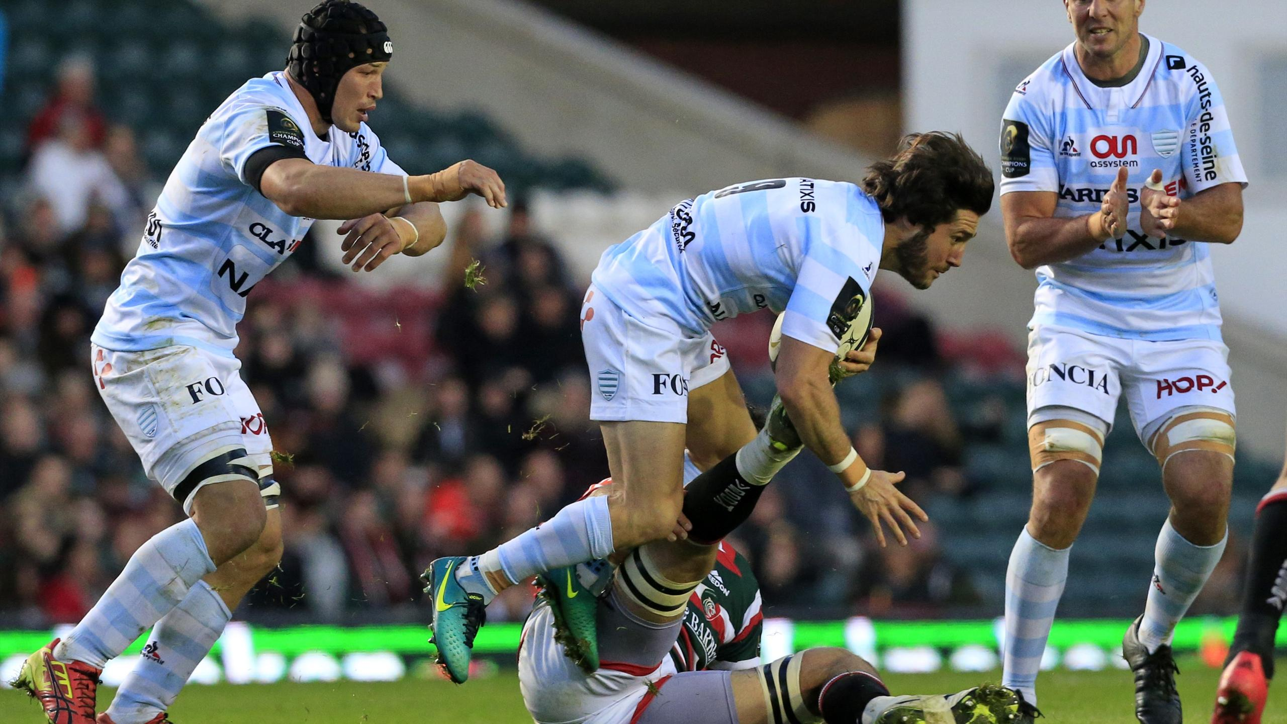 Maxime Machenaud (Racing 92) - 23 octobre 2016