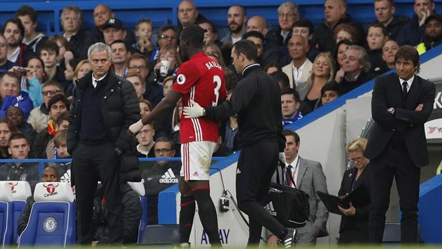 Jose Mourinho fears the worst over Eric Bailly knee injury