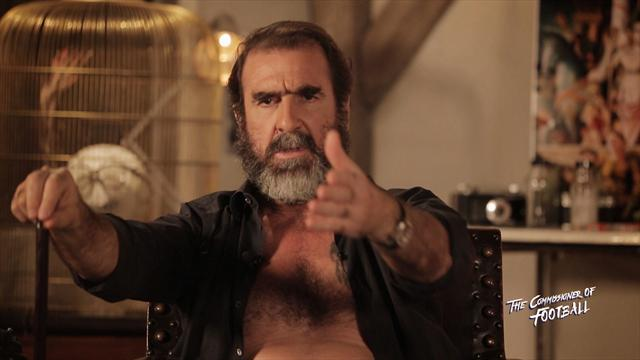 Commissioner Cantona is back! And he has a message for Jose Mourinho...