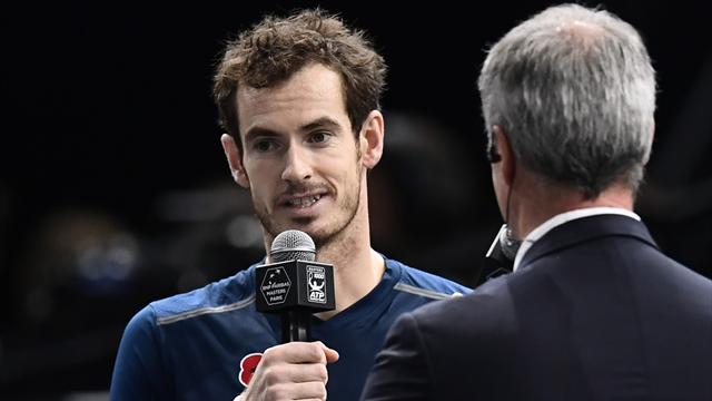 No. 1 Andy Murray dispatches John Isner for Paribas title