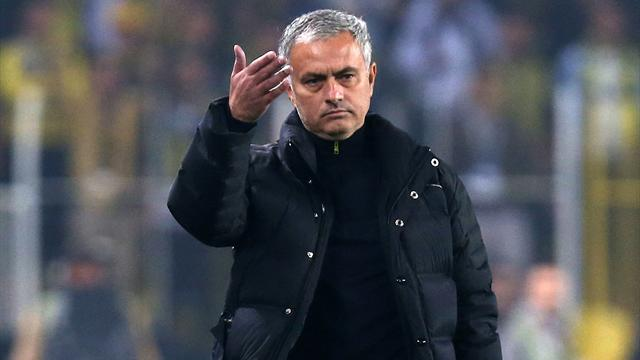 Mourinho given touchline ban after kicking water bottle
