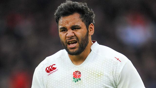 Angleterre : Billy Vunipola absent au moins trois mois
