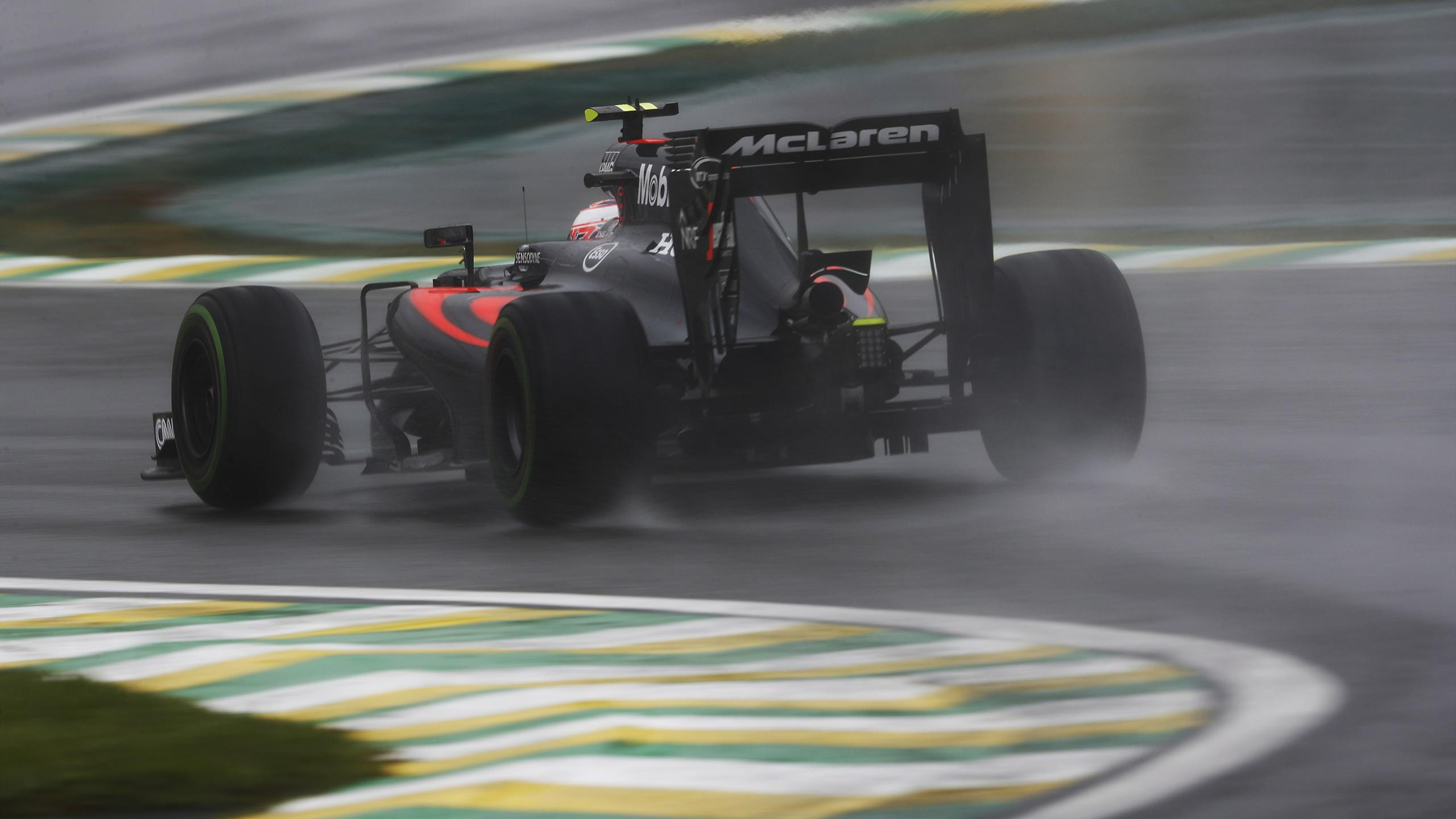 Jenson Button (McLaren) - GP of Brazil 2016