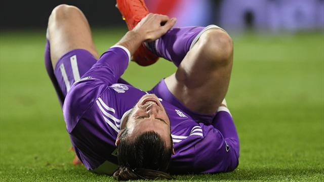 Madrid's Bale out of action for a month longer than expected - reports