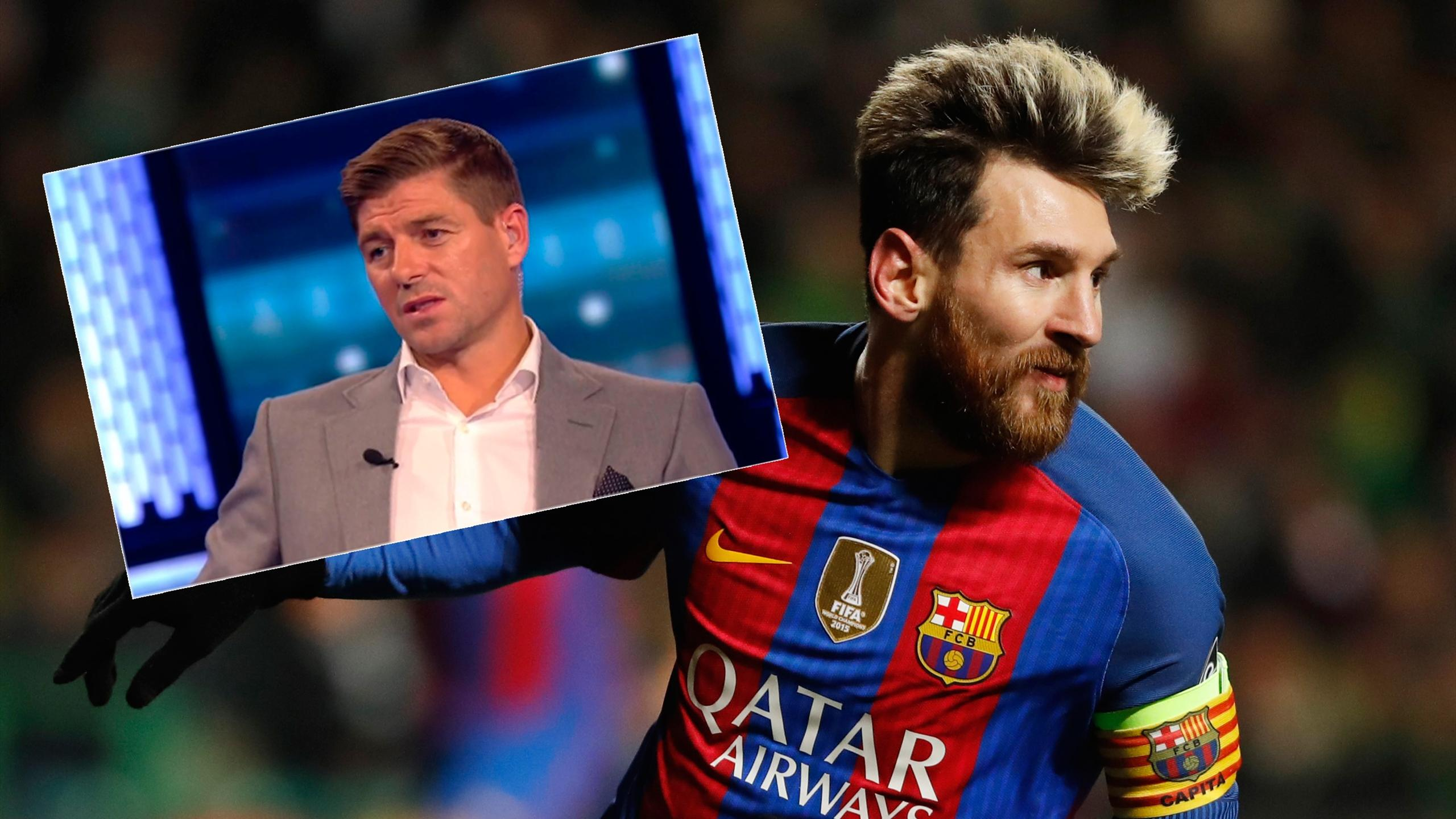 Steven Gerrard explains why Lionel Messi is the 'best there will ever be!'