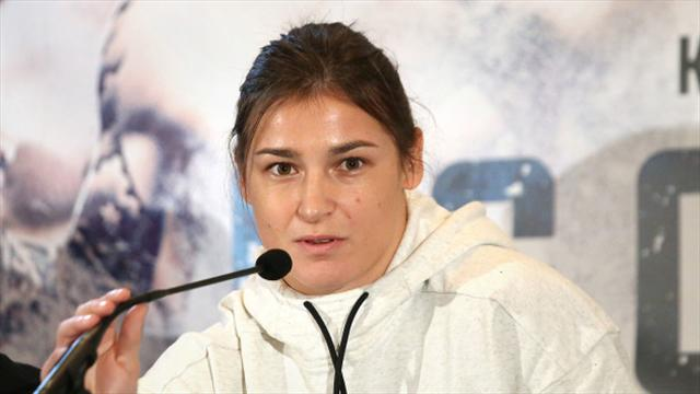 Katie Taylor secures win on professional debut