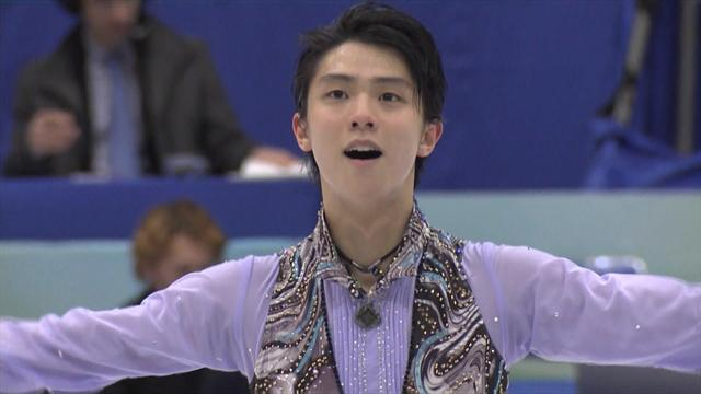 Hanyu, Pogorilaya lead the way in NHK Trophy