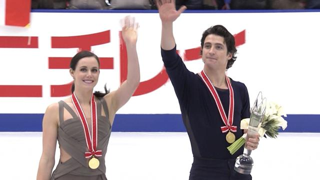 Virtue and Moir break world record score to win NHK Trophy