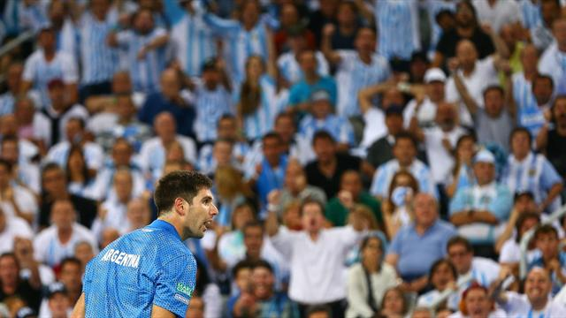 Delbonis hammers Karlovic to secure first Davis Cup for Argentina