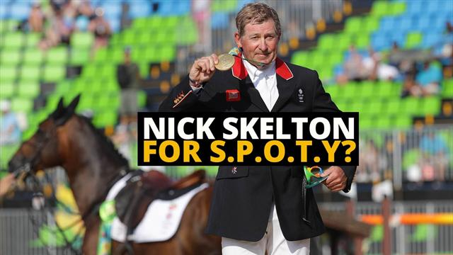 Nick Skelton for Sports Personality of the Year 2016?