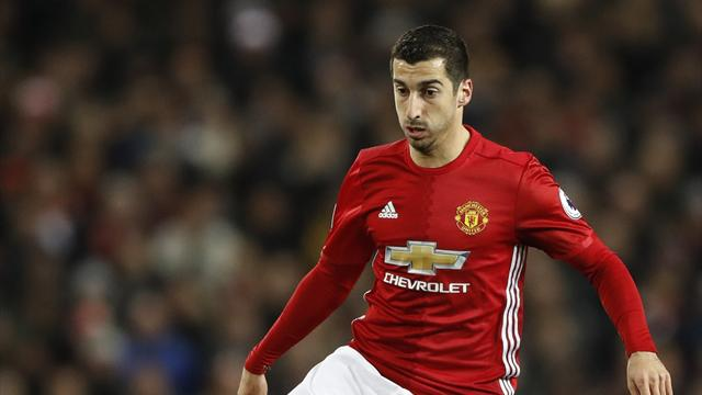 Mkhitaryan, Shaw start for United, Schweinsteiger on bench again