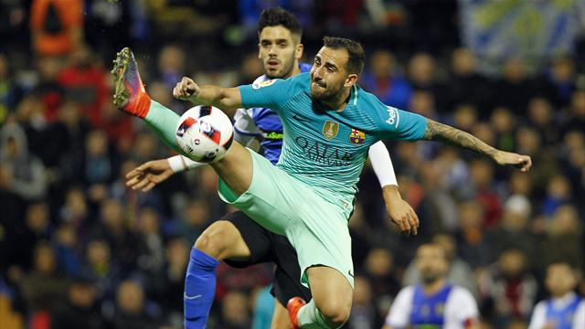 Carles Alena spares Barcelona's blushes in Copa del Rey draw
