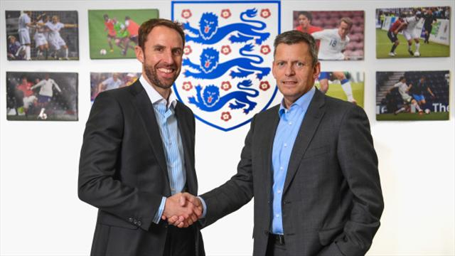 Gareth Southgate set to face media after England appointment