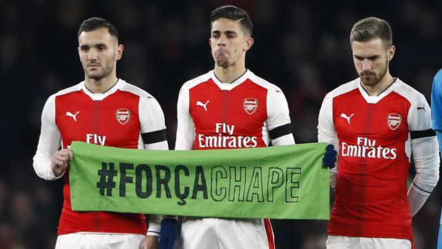 Gabriel pays tearful tribute to Chapecoense plane crash victims