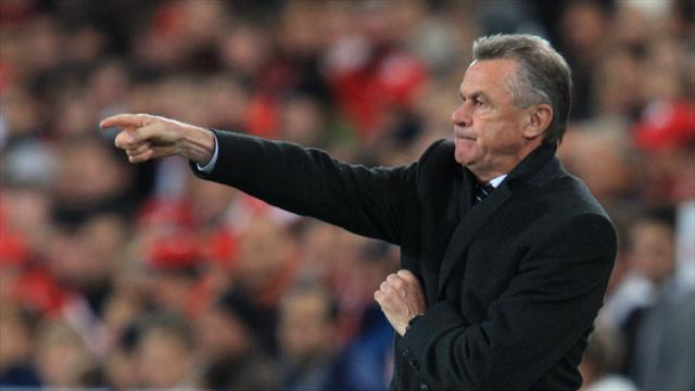 Mark Hughes invites Ottmar Hitzfeld to watch Stoke after German criticises side