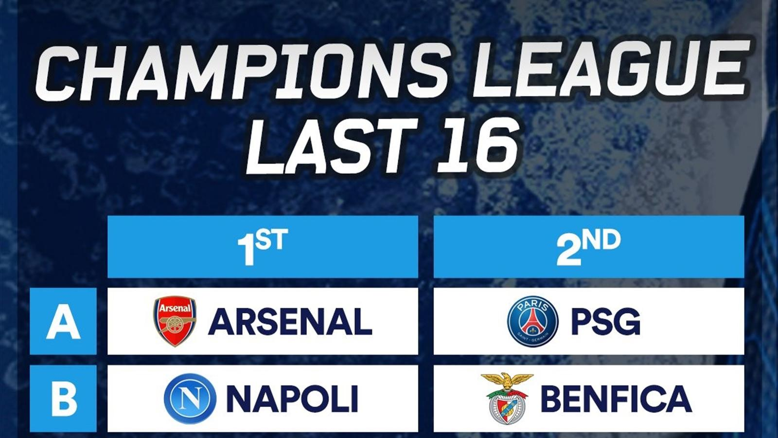Champions League last 16 draw 2016: When is it? Who can play who? Is it on TV? Final group ...
