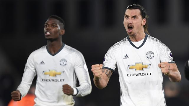 Ibrahimovic strikes late for United to grab win at Palace