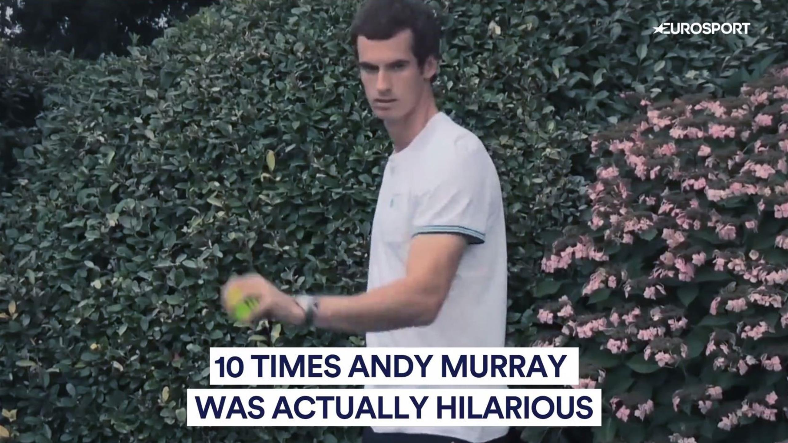 10 times Andy Murray was hilarious