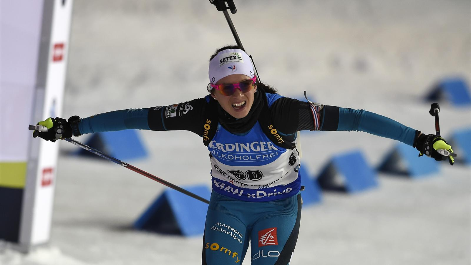 First World Cup win for France's Anais Chevalier - Biathlon - Eurosport