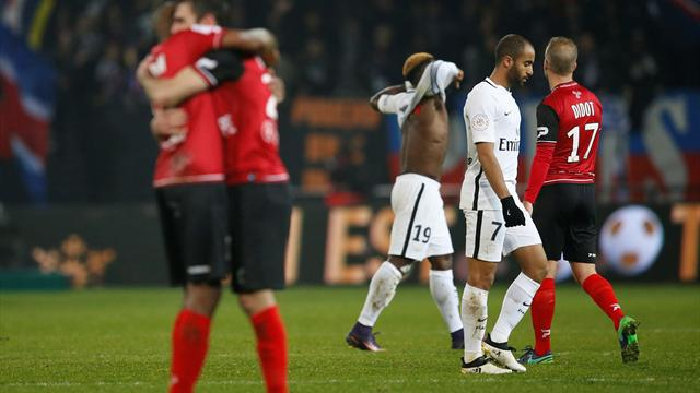 PSG thrown deeper into crisis by Guingamp defeat
