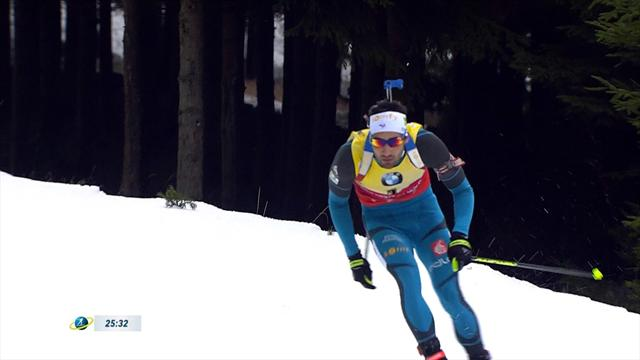 Magnificent hat-trick for Fourcade in Nove Mesto