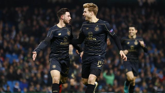 Armstrong stunner helps Celtic beat Hamilton