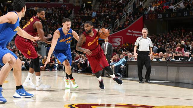 Kyrie Irving's jumper lifts Cavaliers over Warriors