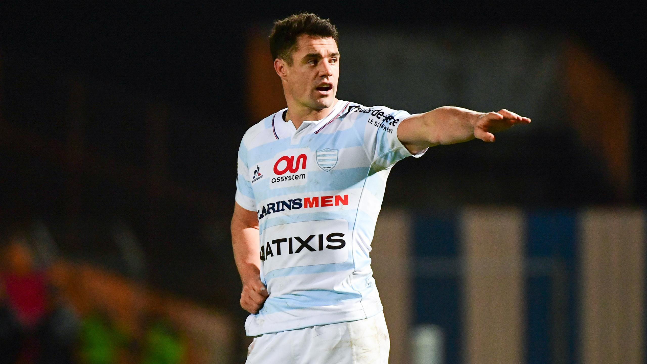 Dan Carter (Racing 92) - décembre 2016