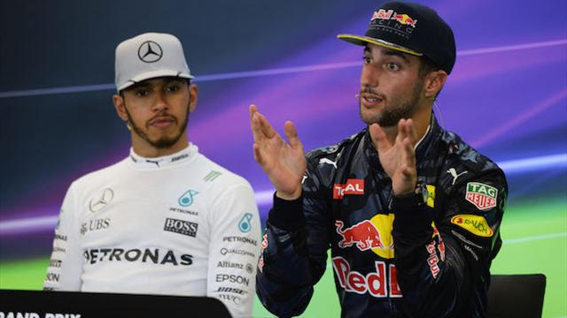 I would beat Hamilton in same car, says Ricciardo