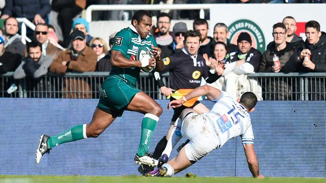 Pau fait tomber Montpellier 32 à 27 — Rugby