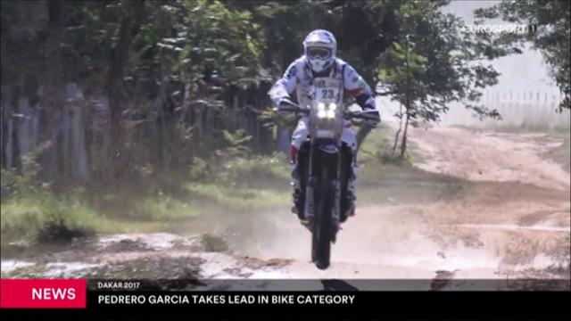 Pedrero Garcia leads on the bikes after day one of the Dakar Rally