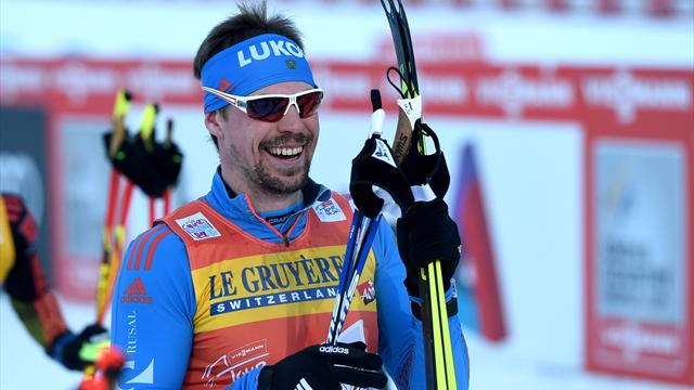 Ustiugov secures third win from three in Tour de Ski