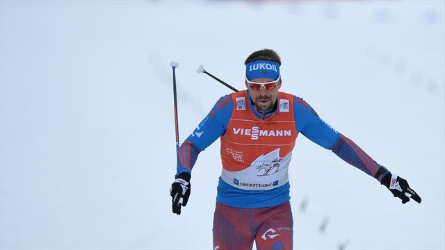 Ustiugov sees winning run ended as Sundby takes Tour de Ski stage victory